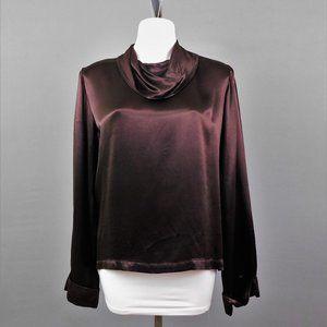 Mike & Tod Women Shirt Metallic Brown M